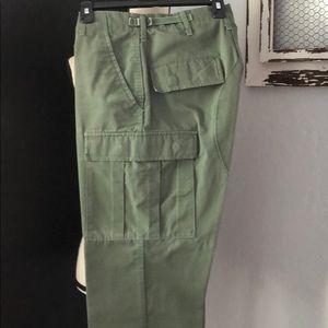 Propper green BDU cargo pants. Sz: S/R.